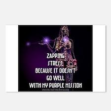 Purple Warrior © Postcards (Package of 8)