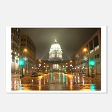 Cute Wisconsin madison Postcards (Package of 8)
