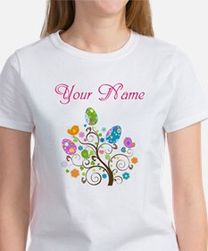 Personalized Easter Tree T-Shirt