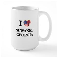 I love Suwanee Georgia Mugs