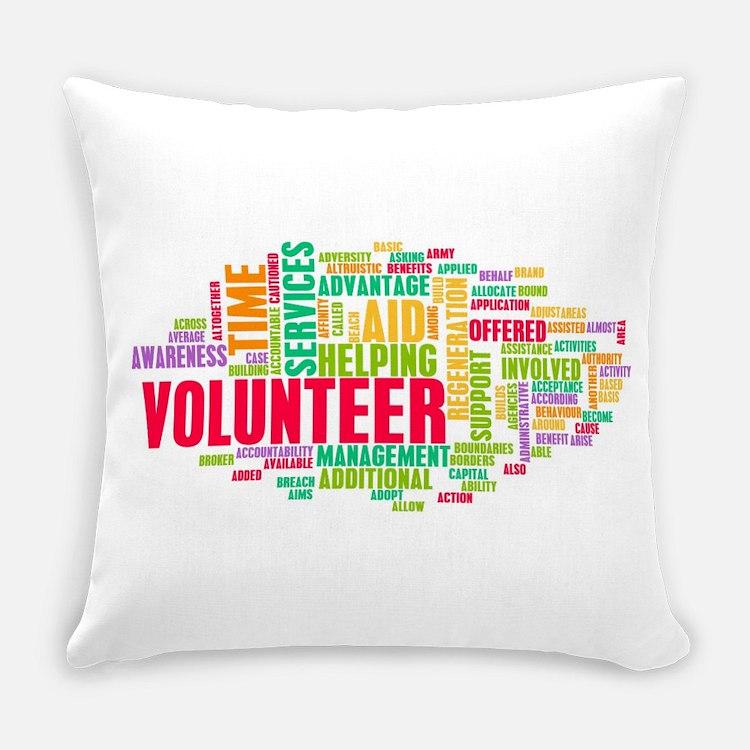 Volunteer Everyday Pillow