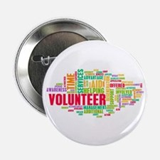 "Volunteer 2.25"" Button (100 Pack)"