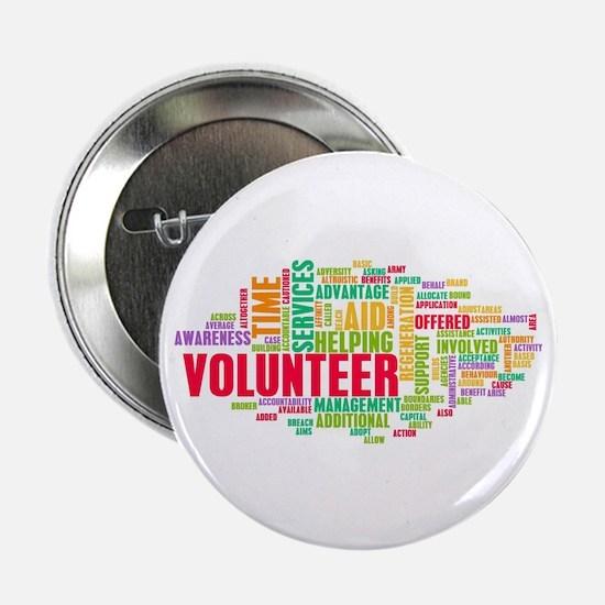 "Volunteer 2.25"" Button (10 Pack)"