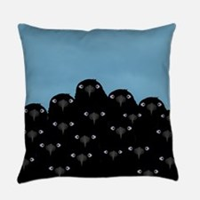 Eating Crow Everyday Pillow