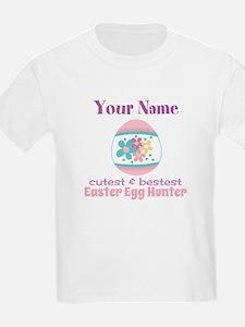 Girls Easter Egg Hunter T-Shirt