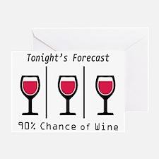 Tonight's Forecast Greeting Card