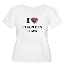 I love Chariton Iowa Plus Size T-Shirt