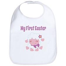 My First Easter (Lamb) Bib