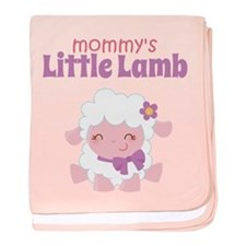 Mommy's Little Lamb baby blanket