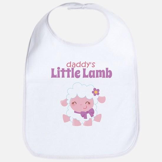Daddy's Little Lamb Bib