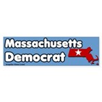 Massachusetts Democrat Bumpersticker