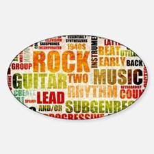 Rock and Roll Music Poster Art as Background Stick