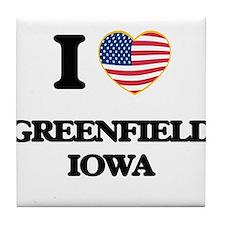 I love Greenfield Iowa Tile Coaster