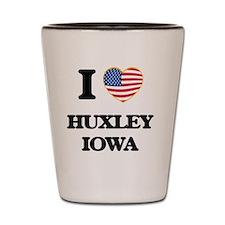 I love Huxley Iowa Shot Glass