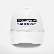 About SAINT BERDOODLE Baseball Baseball Cap