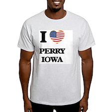 I love Perry Iowa T-Shirt