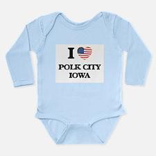 I love Polk City Iowa Body Suit