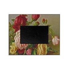 Vintage Flowers Picture Frame