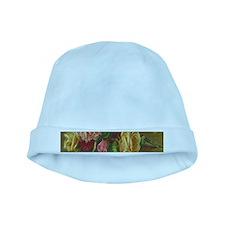 Vintage Flowers baby hat