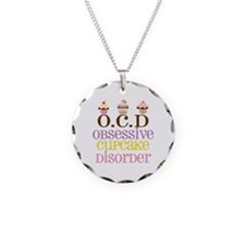 Obsessive Cupcake Disorder Necklace