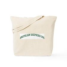 Anatolian Shepherd Dog (green Tote Bag
