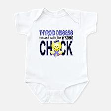 Thyroid Disease MessedWithWrongChi Infant Bodysuit