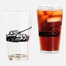 Tiger II Drinking Glass