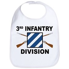 3rd Infantry Division - Crossed Rifles Bib