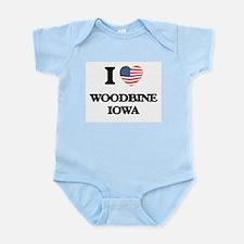 I love Woodbine Iowa Body Suit
