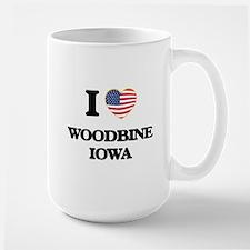 I love Woodbine Iowa Mugs