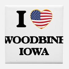 I love Woodbine Iowa Tile Coaster