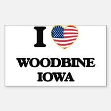 I love Woodbine Iowa Decal