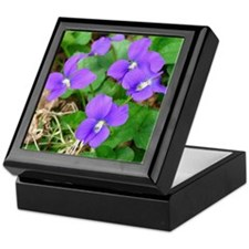 Are Violets Blue? Keepsake Box