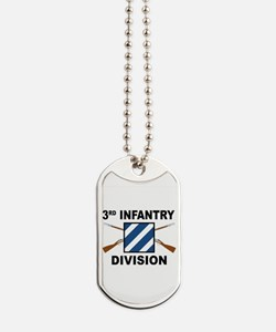 3rd Infantry Division - Crossed Rifles Dog Tags