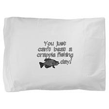 Crappie Fishing Day Pillow Sham
