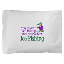 Ice Fishing Pillow Sham