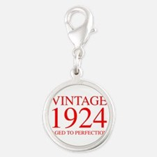 VINTAGE 1924 aged to perfection-red 300 Charms