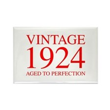 VINTAGE 1924 aged to perfection-red 300 Magnets