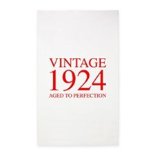 VINTAGE 1924 aged to perfection-red 300 Area Rug