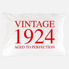 VINTAGE 1924 aged to perfection-red 300 Pillow Cas