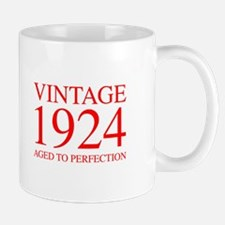 VINTAGE 1924 aged to perfection-red 300 Mugs