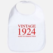 VINTAGE 1924 aged to perfection-red 300 Bib