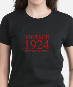 VINTAGE 1924 aged to perfection-red 300 T-Shirt