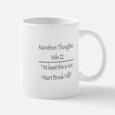 Marathon Thoughts: Mile 22 Mugs