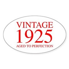 VINTAGE 1925 aged to perfection-red 300 Decal