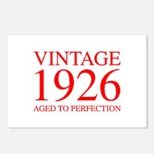 VINTAGE 1926 aged to perfection-red 300 Postcards