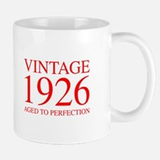 VINTAGE 1926 aged to perfection-red 300 Mugs