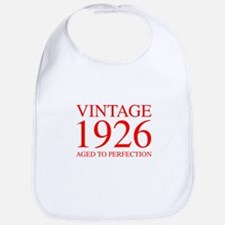 VINTAGE 1926 aged to perfection-red 300 Bib