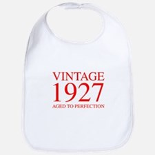 VINTAGE 1927 aged to perfection-red 300 Bib