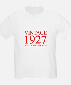 VINTAGE 1927 aged to perfection-red 300 T-Shirt